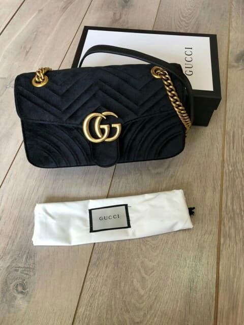 eb276af9f34 Jual Tas Gucci Shoulder GG Marmont 443497A Semi ori - BrandedPremium ...