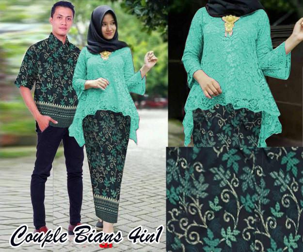Setelan Wanita Muslim - Couple Kebaya Batik Modern Muslim - Dzikri ... 1ea8d8f14f