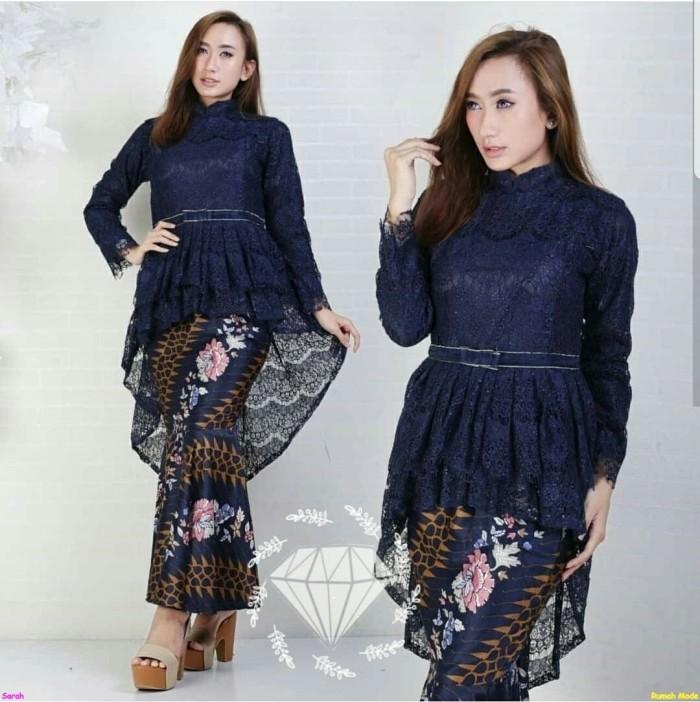 Jual Set Kebaya Dahlia Stelan Kebaya Modern Baju Kebaya Wisuda Kebaya Trend Jakarta Pusat Rumah Mode Fashion Tokopedia