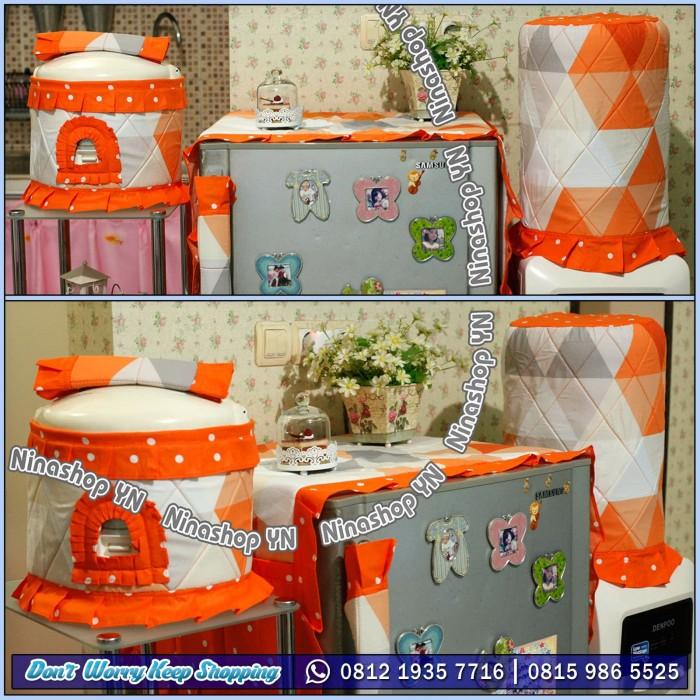 harga Home set gkm sarung galon kulkas magicom motif segitiga besar orange Tokopedia.com