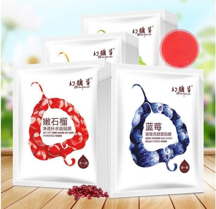 Huanyancao Moist Bright Skin Mask - Masker Buah Korea Good Quality