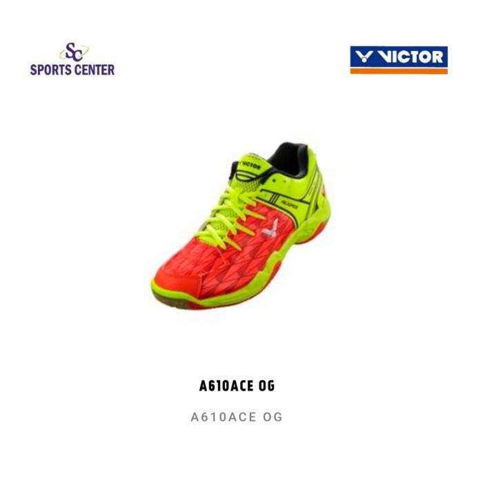 harga New !! sepatu badminton victor sha610 ace og ( sha 610ace og) Tokopedia.com
