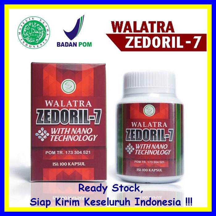 Foto Produk Walatra Zedoril 7 100% Asli - Ahlinya Obat Benjolan, Tumor Dan Kanker dari Di Herbal Aja