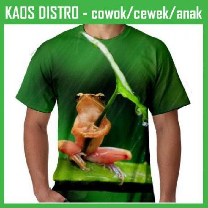 Jual Kaos Hewan Katak Full Print 4 Fpn98 Kota Yogyakarta