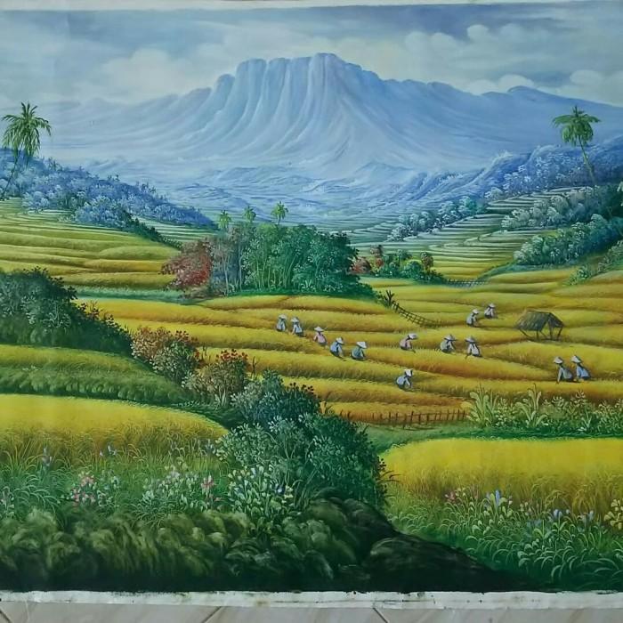 Lukisan Pemandangan Alam