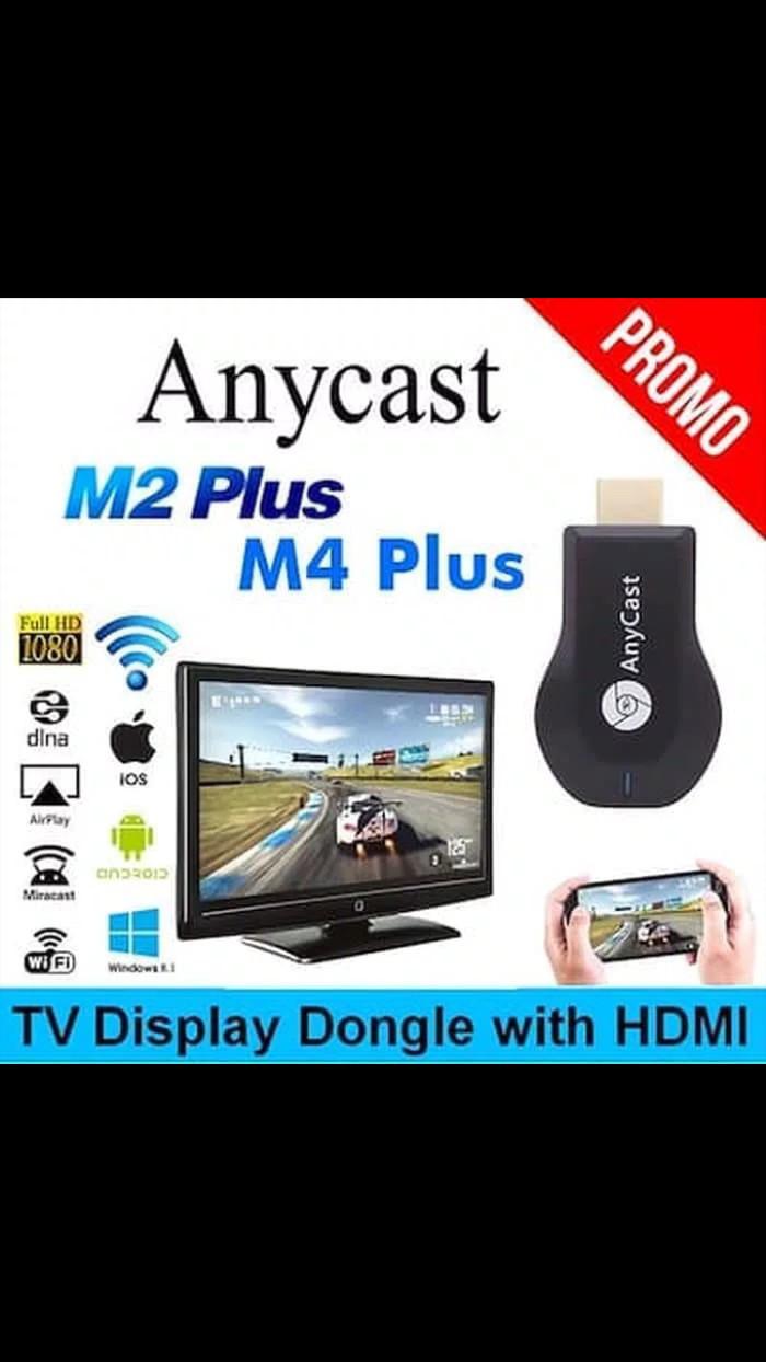 harga Anycast m4 plus original dongle televisi alat penghubung tv ke hp hd p Tokopedia.com