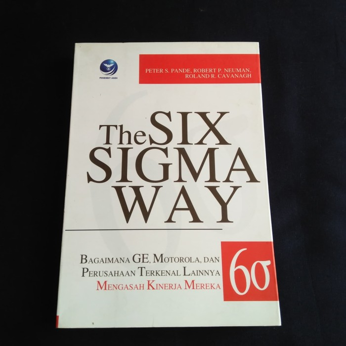 BUKU SIX THE SIGMA WAY PETER S