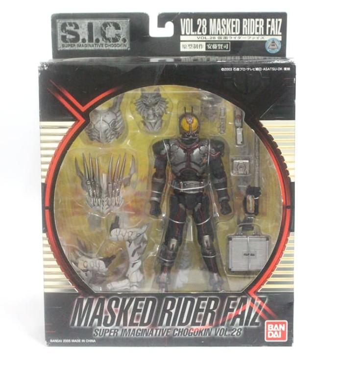 28 Kamen Rider Faiz Action Figure Bandai FROM JAPAN S.I.C