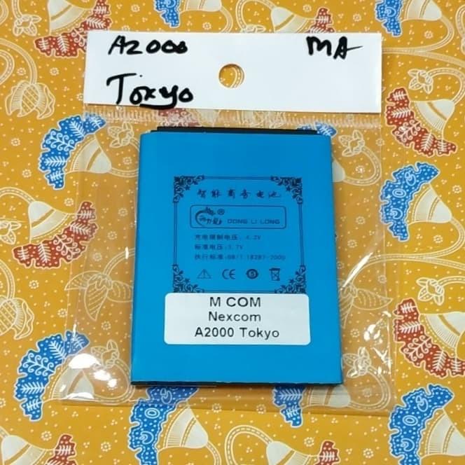 harga Baterai nexcom a2000 tokyo mcom 5000mah battle battery batre Tokopedia.com