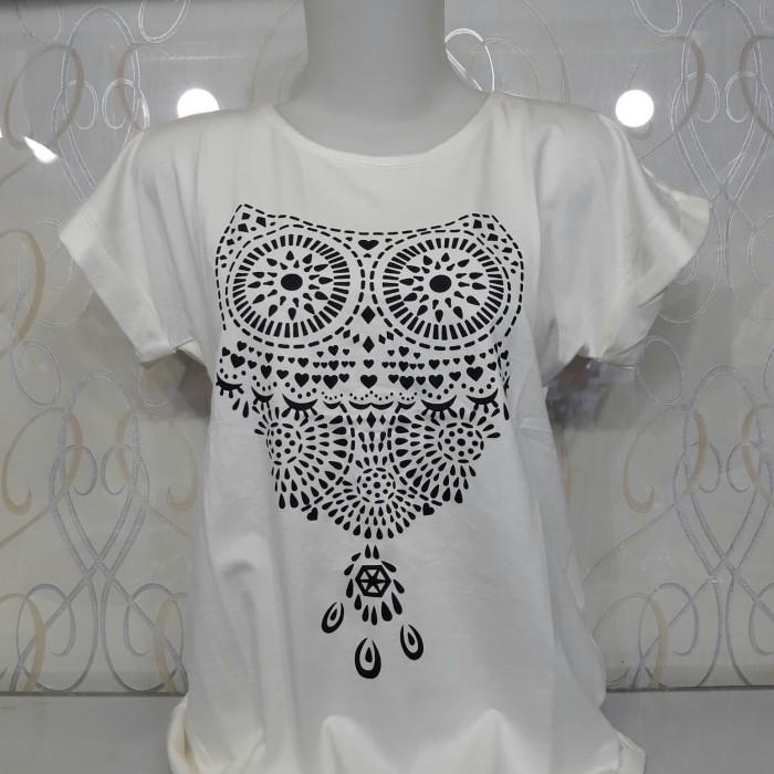 harga Kaos cewek/baju cewek gambar/motif/tulisan Tokopedia.com