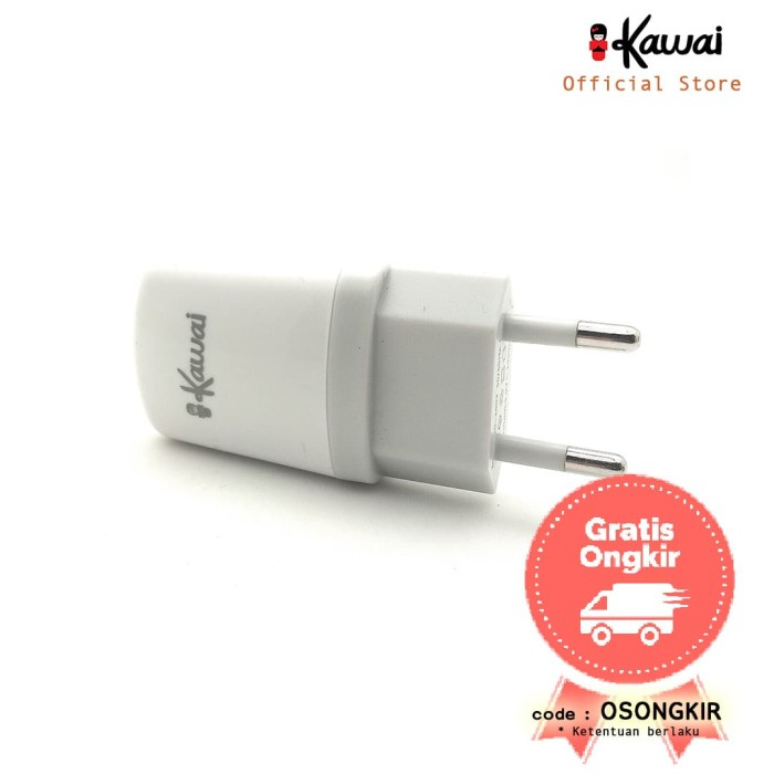 ikawai batok kepala charger 1a single port