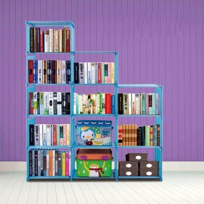 ... Susun mudah dibongkar pasang | Shopee Indonesia. Source · Harga Rak Buku Portable Serbaguna 3 Sisi 12 Ruang Besar Lemari Baju Harga Rp 178.900