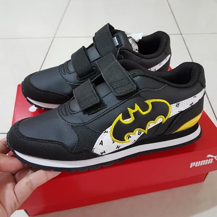 Info Harga Sepatu Anak - Puma ST Runner Batman Hitam Original BNIB ... 1fb83c2403