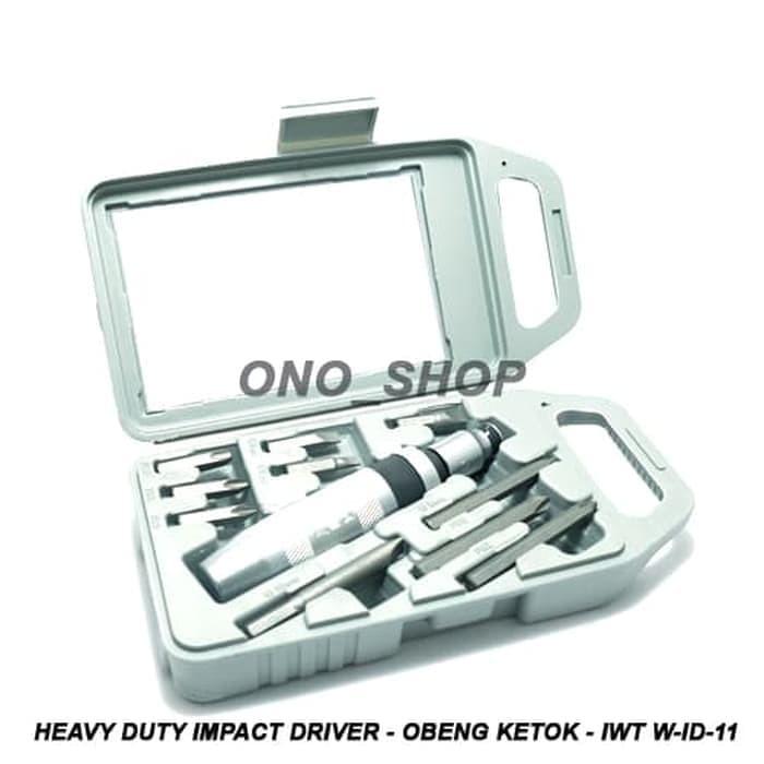 Heavy Duty Impact Driver - Obeng Ketok - IWT W-ID-11