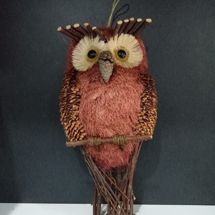 Jual Pajangan Hiasan Dinding Rumah Burung Hantu Owl Burung Buek A