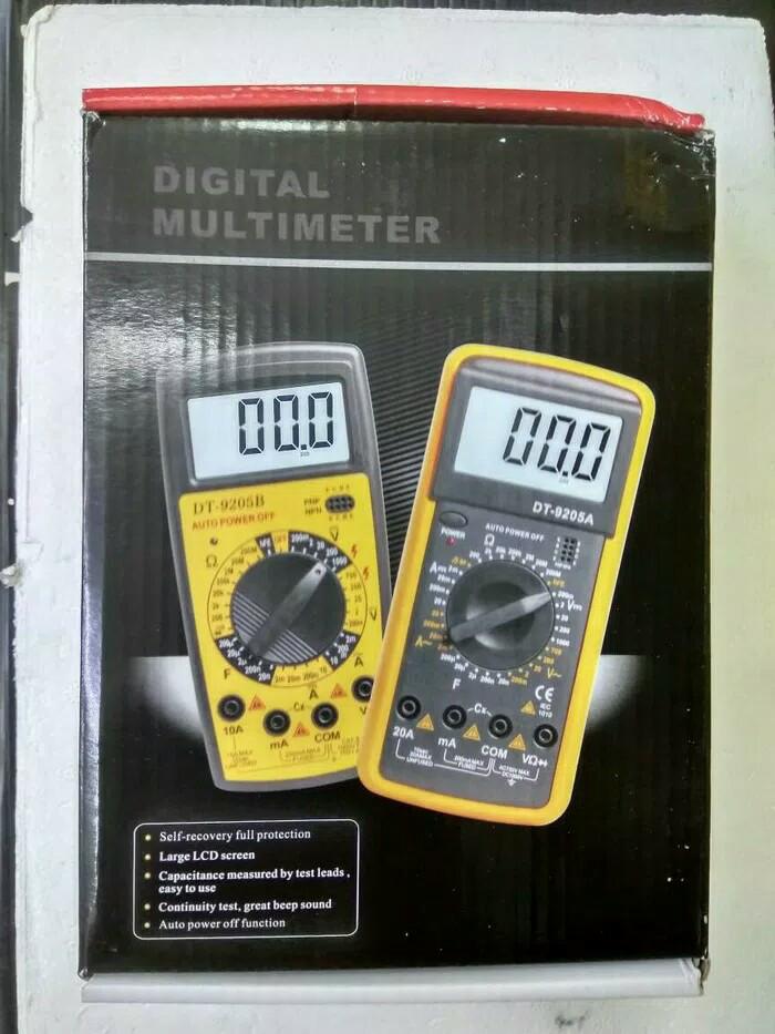 harga Alat service hp & tablet multitester digital dt9205a /avometer mel-v Tokopedia.com