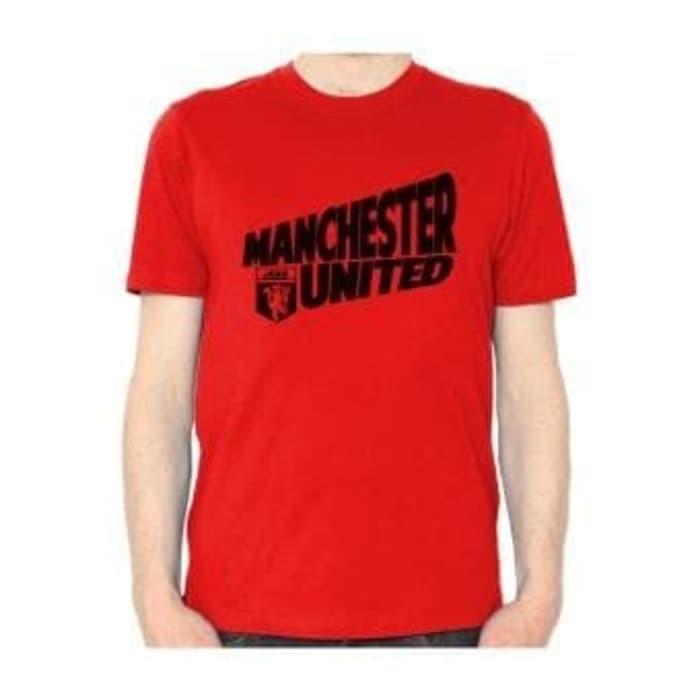 4e5ad5c75 Jual T1933 Kaos Tshirt Baju Combed 30S Distro Manchester United MU ...