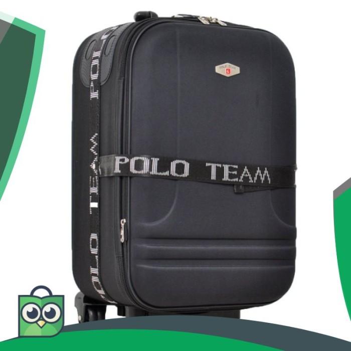 Polo Team 931 Koper Kabin Size 20 inch Gratis Pengiriman JABODETABEK