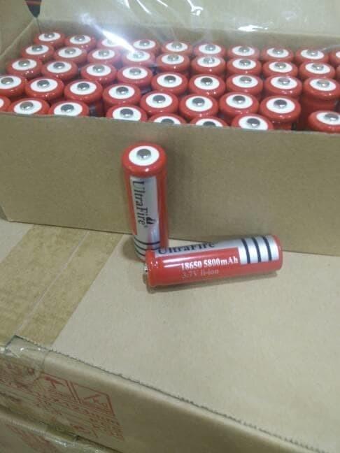 Foto Produk Ultrafire 18650 / Baterai Senter police swat dari RedSkyonline