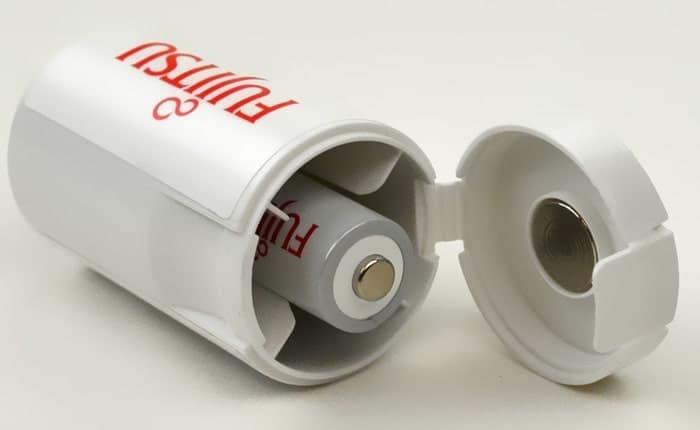 Foto Produk FUJITSU Converter Battery AA to C / Baterai Dari AA ke Ukuran C dari RedSkyonline