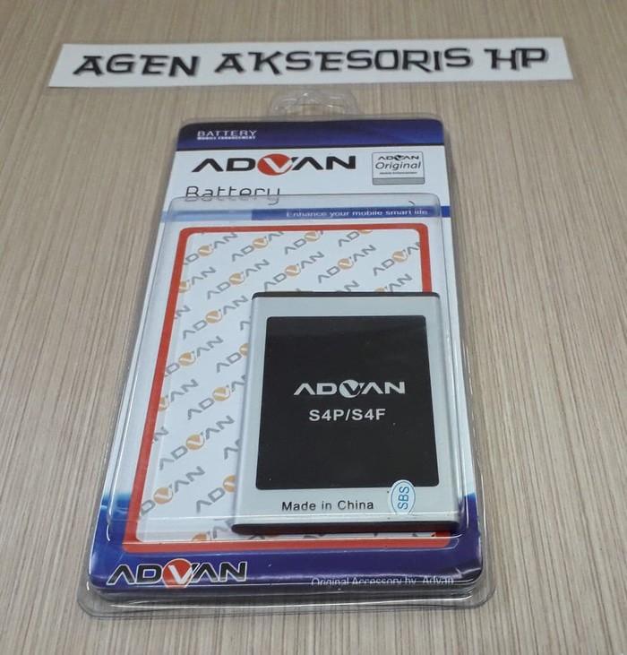 Batre ADVAN S4F S4P S4X Baterai ORI 99%attery Original 1500mAh