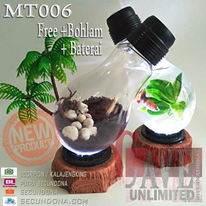harga Terrarium aquarium unik lampu meja kamar hiasan rumah kantor ikan hias Tokopedia.com