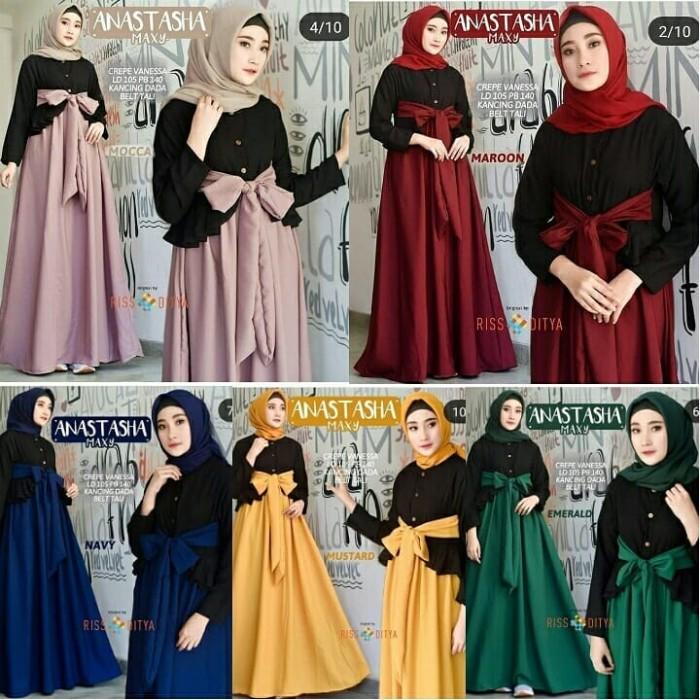 Baju Gamis Wanita Emeral Dress - Daftar Harga Termurah c7ec09deb8