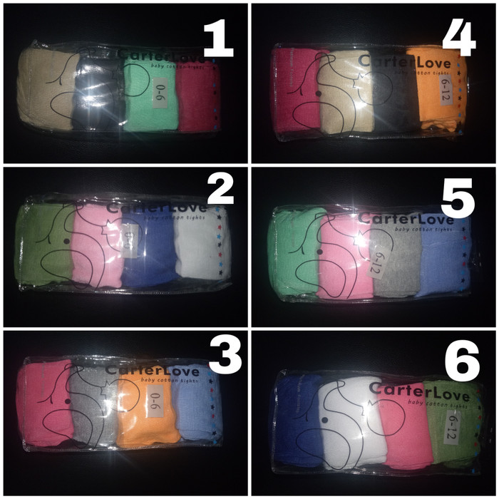 Legging Carter Love Polos 4in1 tutup kaki