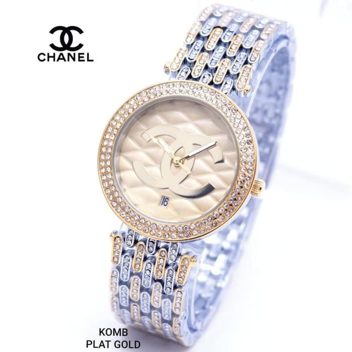 harga Jam tangan wanita chanel rantai premium cewek elegan keren jam bagus Tokopedia.com