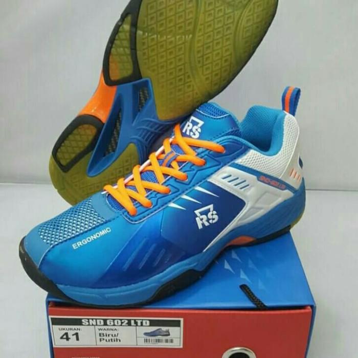 Sepatu RS SND 602 LTD Badminton   Bulutangkis   Voly   Tenis Original 9bcfdf208b
