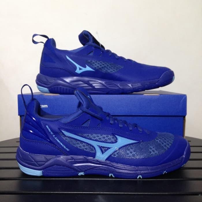 Jual Sepatu Volly Voli Mizuno Original Wave Luminous Sodalite Biru