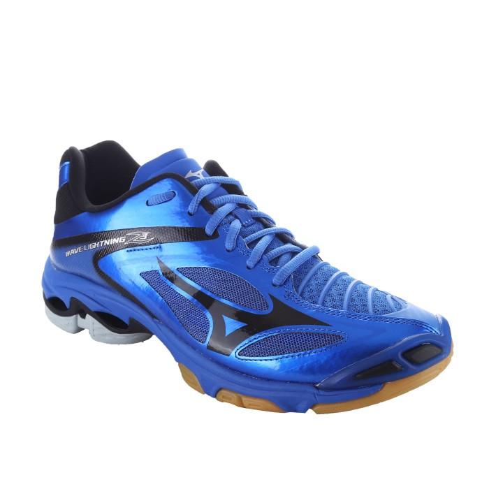 Jual Sepatu Volly Voli Mizuno Original Wave Lightning Z3 Strong Biru Hitam DKI Jakarta Kios Sepatu Futsal | Tokopedia