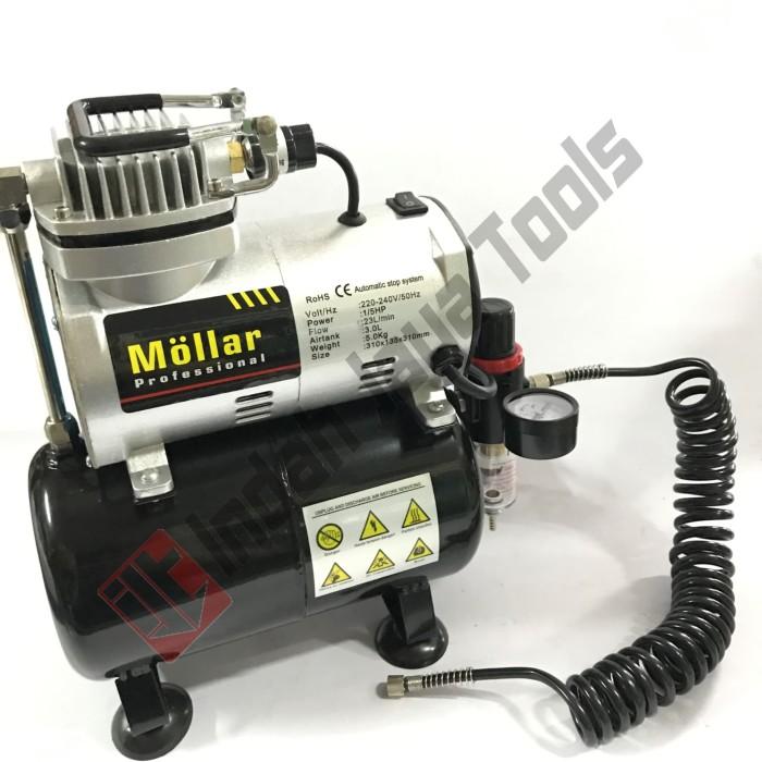 harga Mollar mini kompresor oilless air brush tc-20t - compressor oiless Tokopedia.com