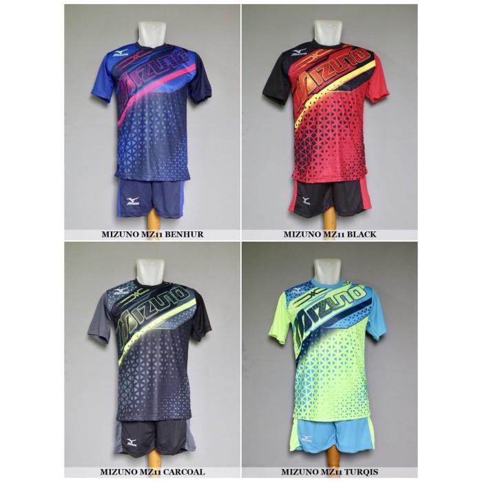 Jual Baju Kaos Olahraga Seragam Volley Setelan Voli Mizuno MZ11 ... 3a08bb6e7d