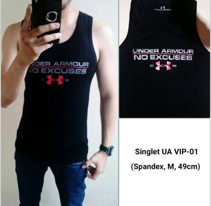 ... harga Best seller singlet gym kaos keren underarmour excuse murmer  Tokopedia.com 940ad4bfb5