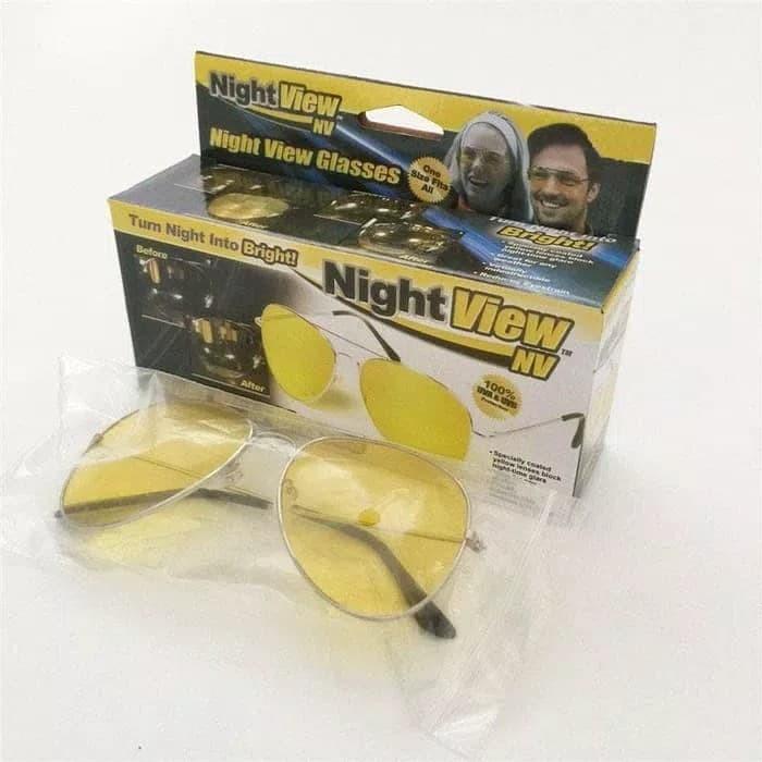 Kacamata Anti Silau di malam hari / Night View Glasses Vision