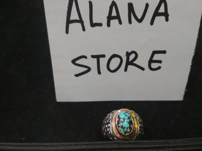 harga Batu pirus batu pyrus persia cincin perak special custom Tokopedia.com