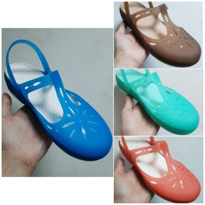 ... harga Sepatu wanita   cewek crocs mary jane new Tokopedia.com 42c71fc4bc