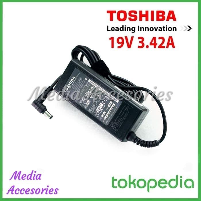 harga Adaptor / charger laptop toshiba 19v-3.42a original garansi 1 tahun Tokopedia.com