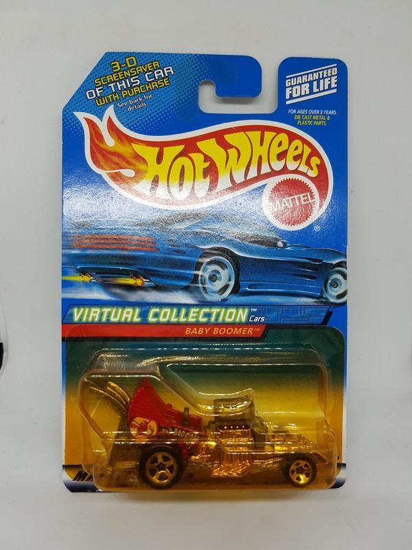 Hot Wheels Baby Boomer All Metal