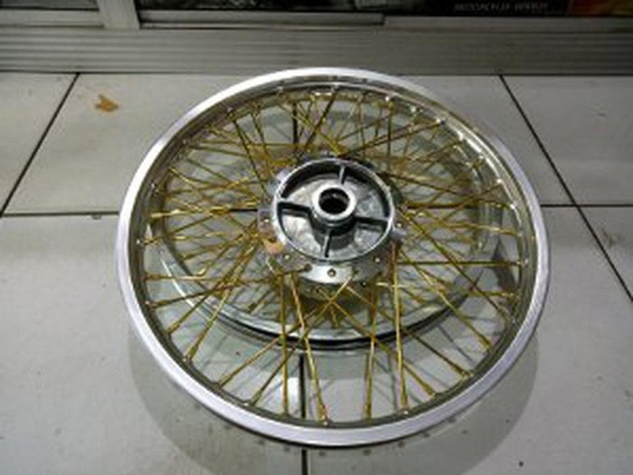 Jual Beli Velg Jari Jari Tromol Murah Ring 17 Rossi Motor Supra X