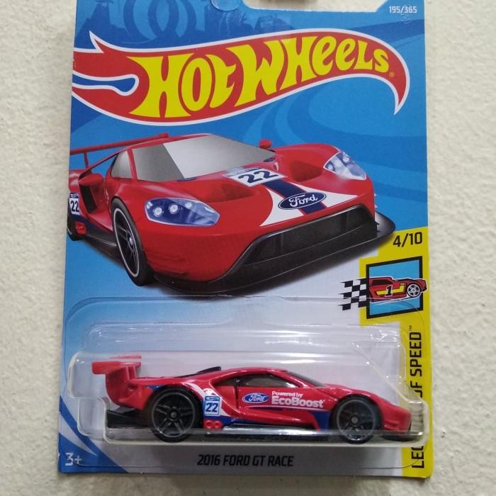Hotwheels Ford Gt Race Merah