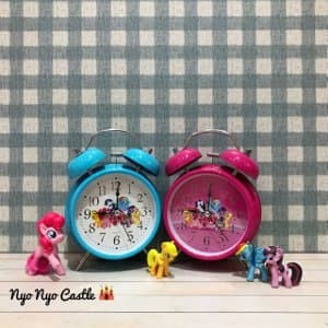 Jam Weker Classic Karakter Anak L Little Pony Hello Kitty Doraemon C 0429ac4370
