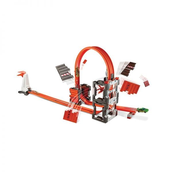 harga Hot wheels track builder construction crash playset dww96 Tokopedia.com