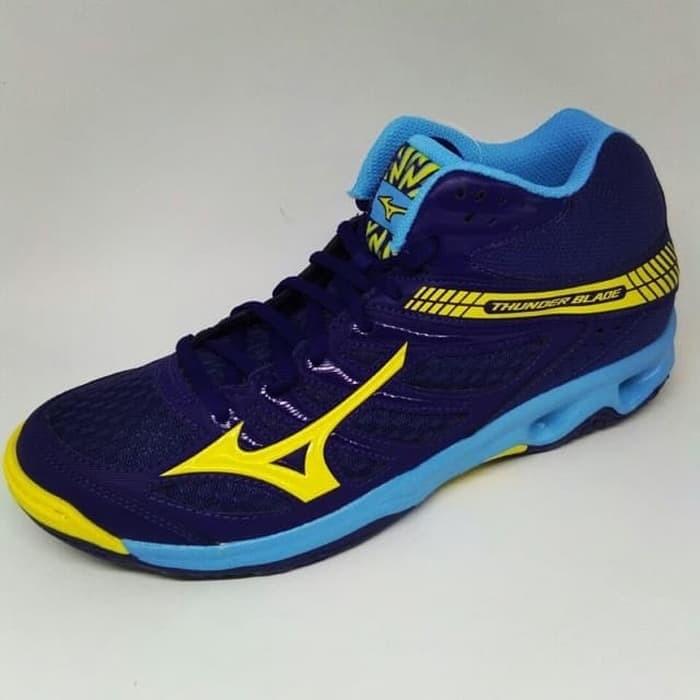 Jual Sepatu Volly Mizuno Thunder blade Mid original - sam s shoes ... 85286aa0c5