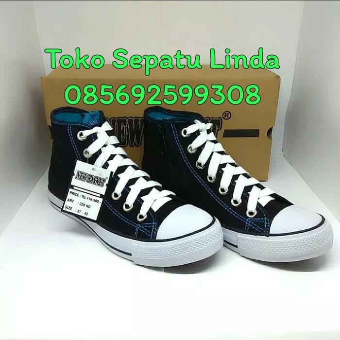 Jual SEPATU SEKOLAH NEW BASKET RESLETING TINGGI - Toko Sepatu Linda ... 035f41fb1c