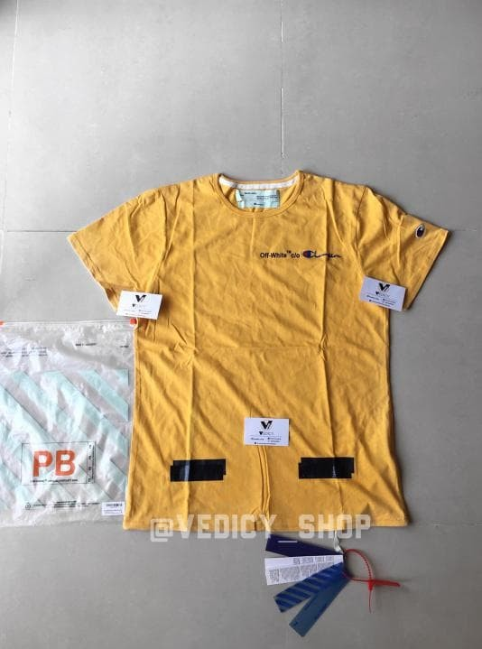 2eba42db Jual Kaos Baju Off White Tee Offwhite Champion Grade Authentic 1:1 ...