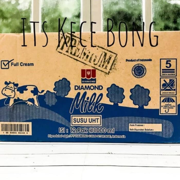 Jual Promo Perdus Susu Uht Diamond Full Cream Premium 1000ml Khusus