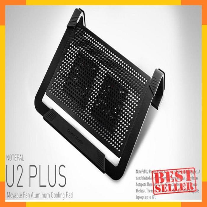 5bb6d5bb46 Jual Cooling Pad - Cooler Master Notepal U2 Plus Black ...