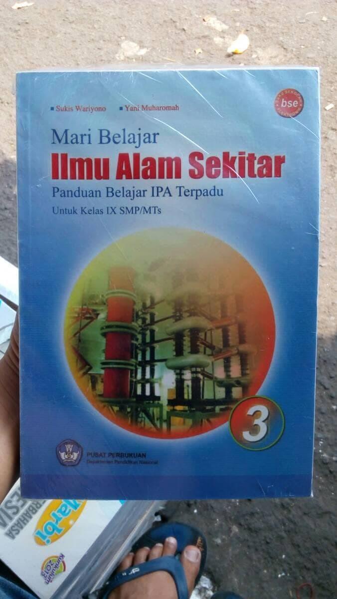 Jual Buku SMP Kelas 3 Ilmu Alam Sekitar IPA Kelas IX SMP Jakarta Barat Cerdas Membaca